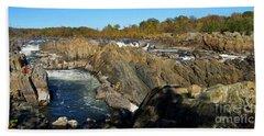 Pan Of The Potomac Hand Towel