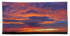 Pana 53rd Ave Sunrise Hand Towel