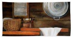 Pancha Plancha... Bath Towel by Edgar Torres