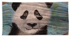 Panda Bath Towel by Ann Michelle Swadener