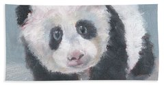 Panda For Panda Hand Towel