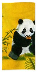 Panda Power Hand Towel