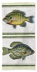 Panfish Id Bath Towel