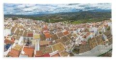 Panorama Setenil Andalusia Bath Towel