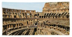 Inside The Colosseum Hand Towel