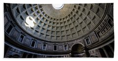 Bath Towel featuring the photograph Pantheon by Nicklas Gustafsson