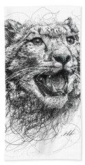 Leopard Hand Towels