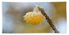 Paperbush Flower Hand Towel