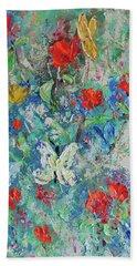 Papillons Bath Towel
