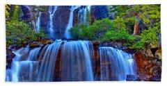 Paradise Falls Hand Towel
