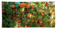 Paradise For Persimmons Hand Towel