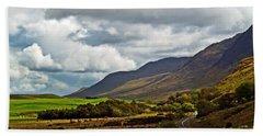 Paradise In Ireland Hand Towel