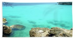 Bath Towel featuring the photograph Paradise Island, Curacao by Kurt Van Wagner