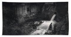 Paradise Springs Dam And Turbine House Ruins Bath Towel