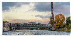 Paris 3 Bath Towel