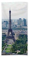 Paris France Bath Towel