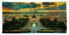 Paris Landscape Bath Towel