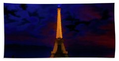 Paris Lights Bath Towel