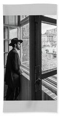 Paris Man In Muesum Hand Towel