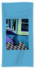 Paris Memories  By Bill O'connor Bath Towel by Bill OConnor