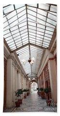 Paris Galerie Vivienne - Paris Glass Dome Street Architecture - Galerie Vivienne  Hand Towel