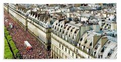 Paris Pride March 2018 Bath Towel