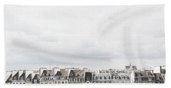 Paris Rooftops View From Centre Pompidou Bath Towel by Ivy Ho
