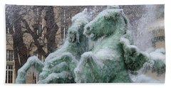 Paris Winter Hand Towel