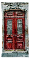 Parisian Door No.14 Bath Towel