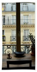 Parisian View Bath Towel
