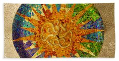 park Guell, Barcelona, Spain Bath Towel