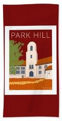 Park Hill Maroon Hand Towel