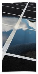 Parking Spaces For Clouds Bath Towel