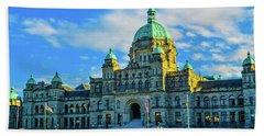 Parliament Victoria Bc Hand Towel