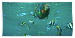 Parrot Fish Bath Towel