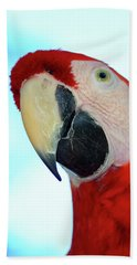 Parrot Head, But Not Necessarily A Fan  Bath Towel