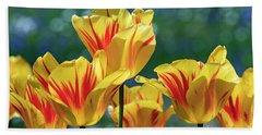Parrot Tulips - D010361 Bath Towel