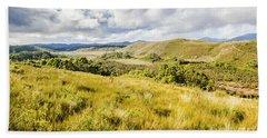 Parting Creek Regional Reserve Tasmania Bath Towel