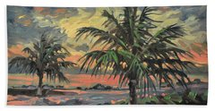 Passing Storm Bath Towel by Donald Maier