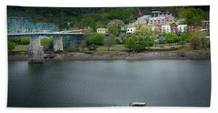 Passing Storm In Chattanooga Bath Towel