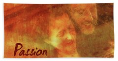 Passion Cd Square Hand Towel