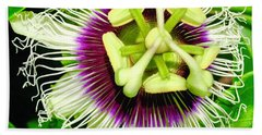 Passion Flower 1 Bath Towel