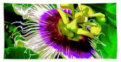 Passion Flower 3 Uplift Bath Towel