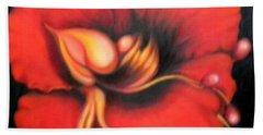 Passion Flower Bath Towel