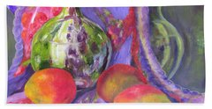 Passion Hand Towel by Lisa Boyd