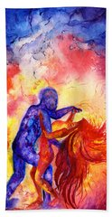 Passion On The Dance Floor Hand Towel