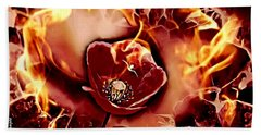 Passions Flame Hand Towel