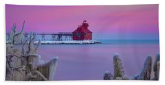 Pastel Lighthouse Hand Towel