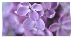 Pastel Lilacs Bath Towel