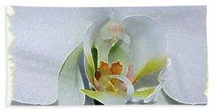 Pastel Orchid Bath Towel